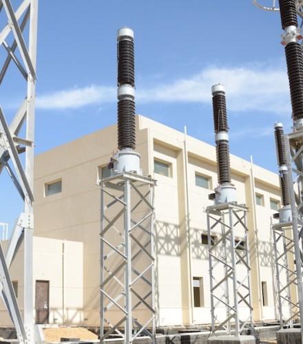 New Giza Electrical Substation 220/22/22 kV