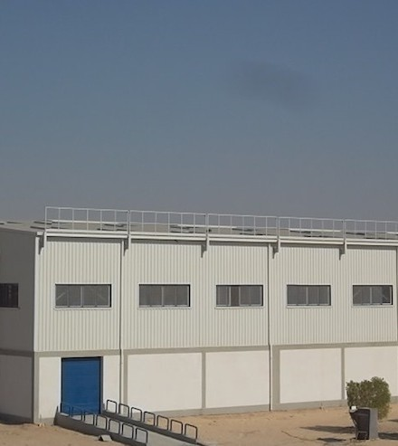 Chipsy Warehouse & Water Tank Buildings